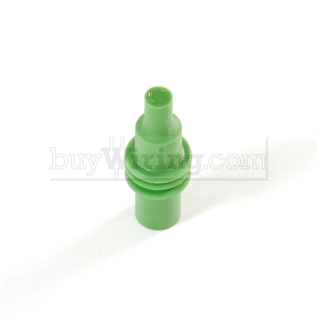 Green Weather Pack Cavity Plugs